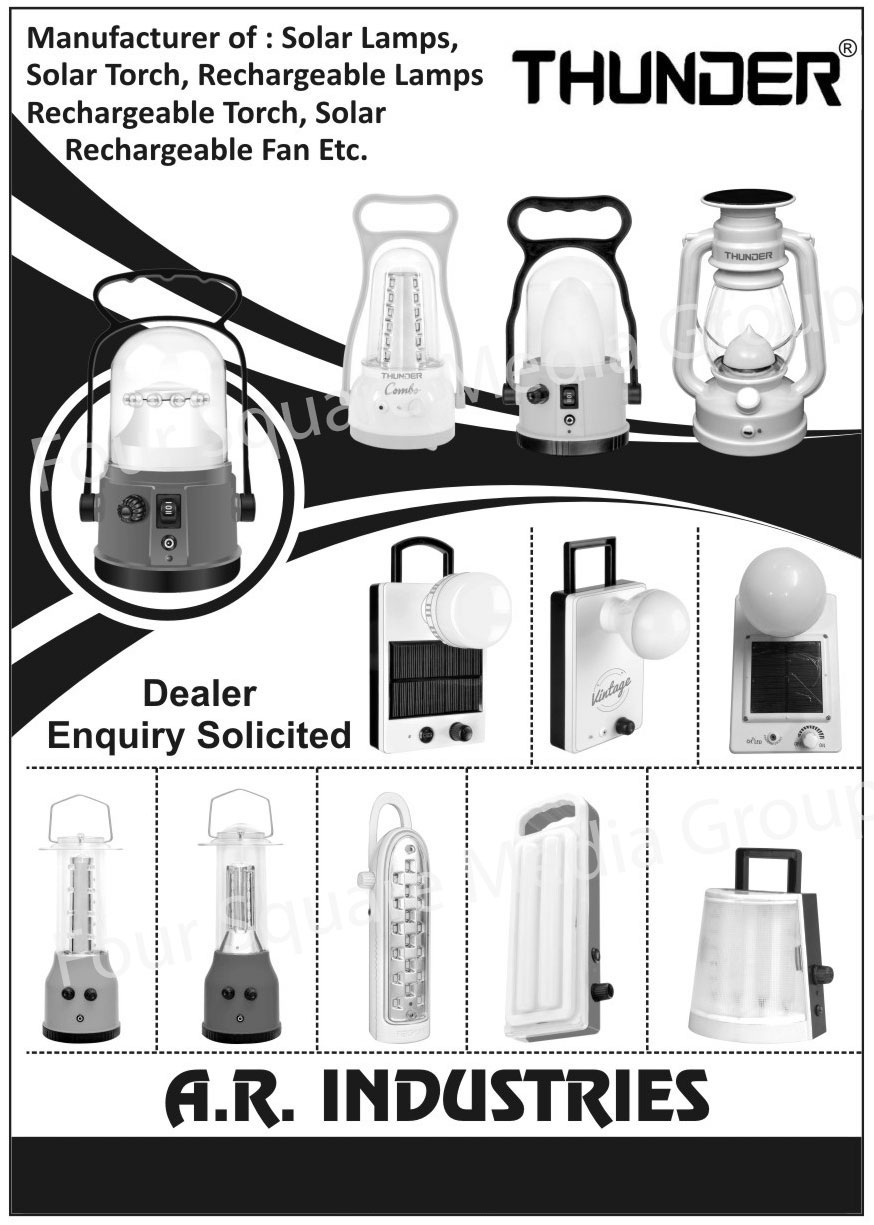 Solar Lamps, Solar Torch, Rechargeable Lamps, Rechargeable Torch, Solar Rechargeable Fans