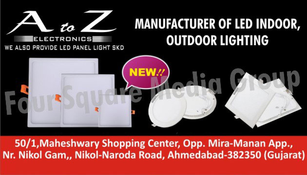 Led Lights, Led Indoor Lights, Led Outdoor Lights, Led Panel Lights SKD