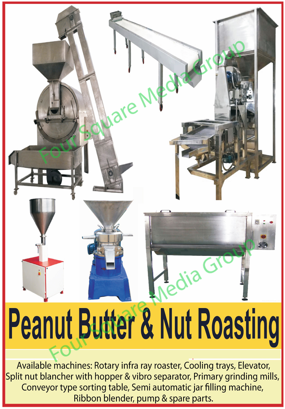 Zero Calorie Sugar Substitute, Zero Calories Sucralose,Sucralose, Sugar Lite, Used Peanut Butter Machines, Used Nut Roasting Machines, Used Rotary Infra Ray Roasters, Used Cooling Trays, Used Split Nut Blancher with Hopper, Used Split Nut Blancher with Vibro Separator, Used Split Nut Blanchers, Used Primary Grinding Mills, Used Conveyor Type Sorting Tables, Used Semi Automatic Jar Filling Machines, Used Ribbon Blenders