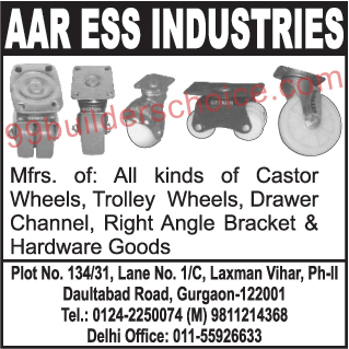 Castor Wheel, Trolley Wheels, Drawer Channel, Right Angle Bracket, Hardware Goods