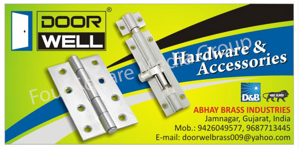Door Hardware, Door Accessories
