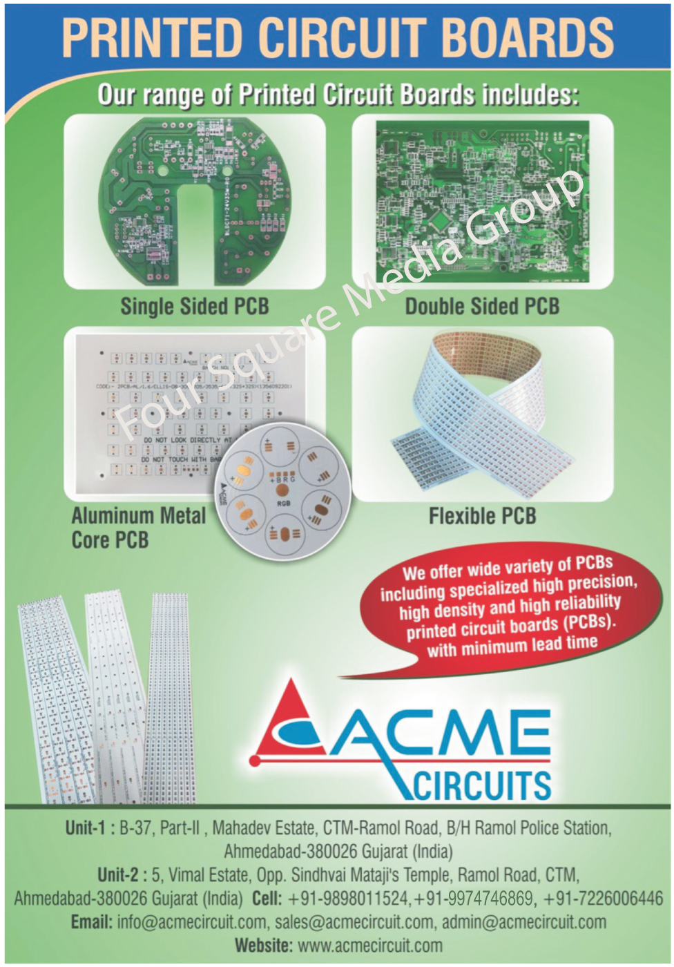 printed circuit board and acme