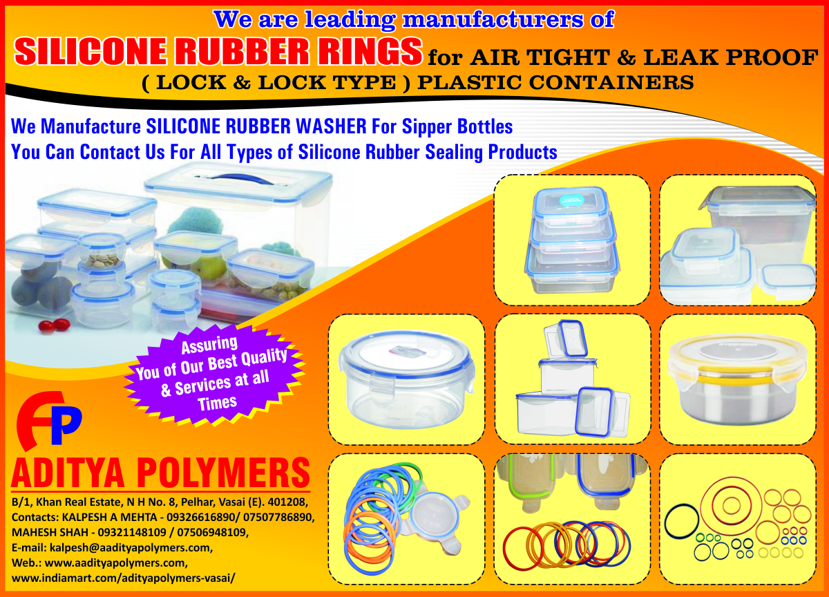Silicone Rubber Washer For Sipper Bottles, Silicone Rubber Sealing Products, Air Tight Silicone Rubber Rings, Leak Proof Silicone Rubber Rings, Silicone Rubber Ring For Plastic Containers, Lock Type Plastic Containers,Rubber Washers, Silicone Rubber Washers, Silicone Rubber Rings, Leak Proof Containers Rings, Rubber Rings, Air Tight Rings, Air Tight Rubber Rings, Rubber Gaskets, Lock Type Steel Container