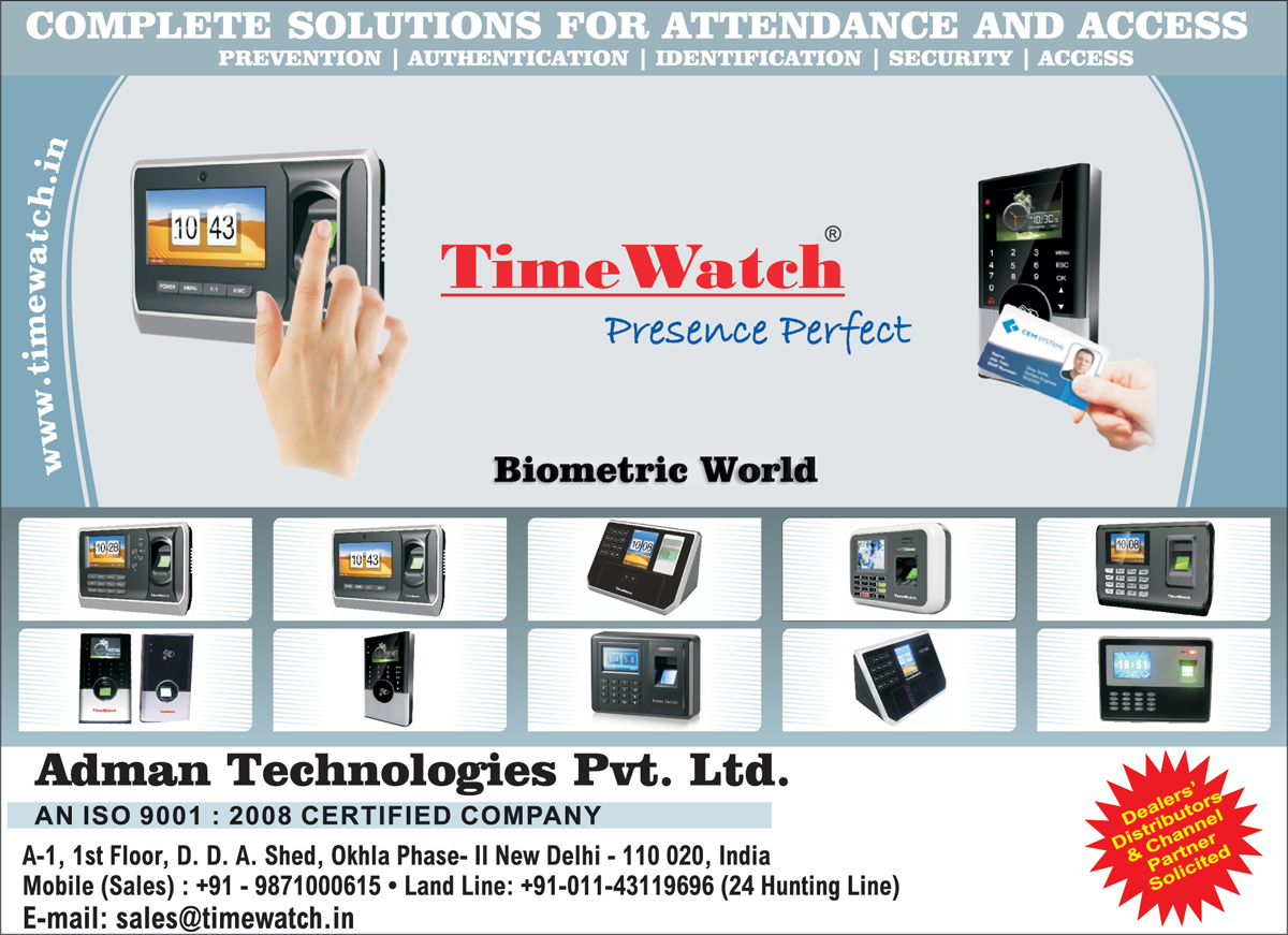 Access Control System, Biometric Attendance Machines,Attendance System, Access System