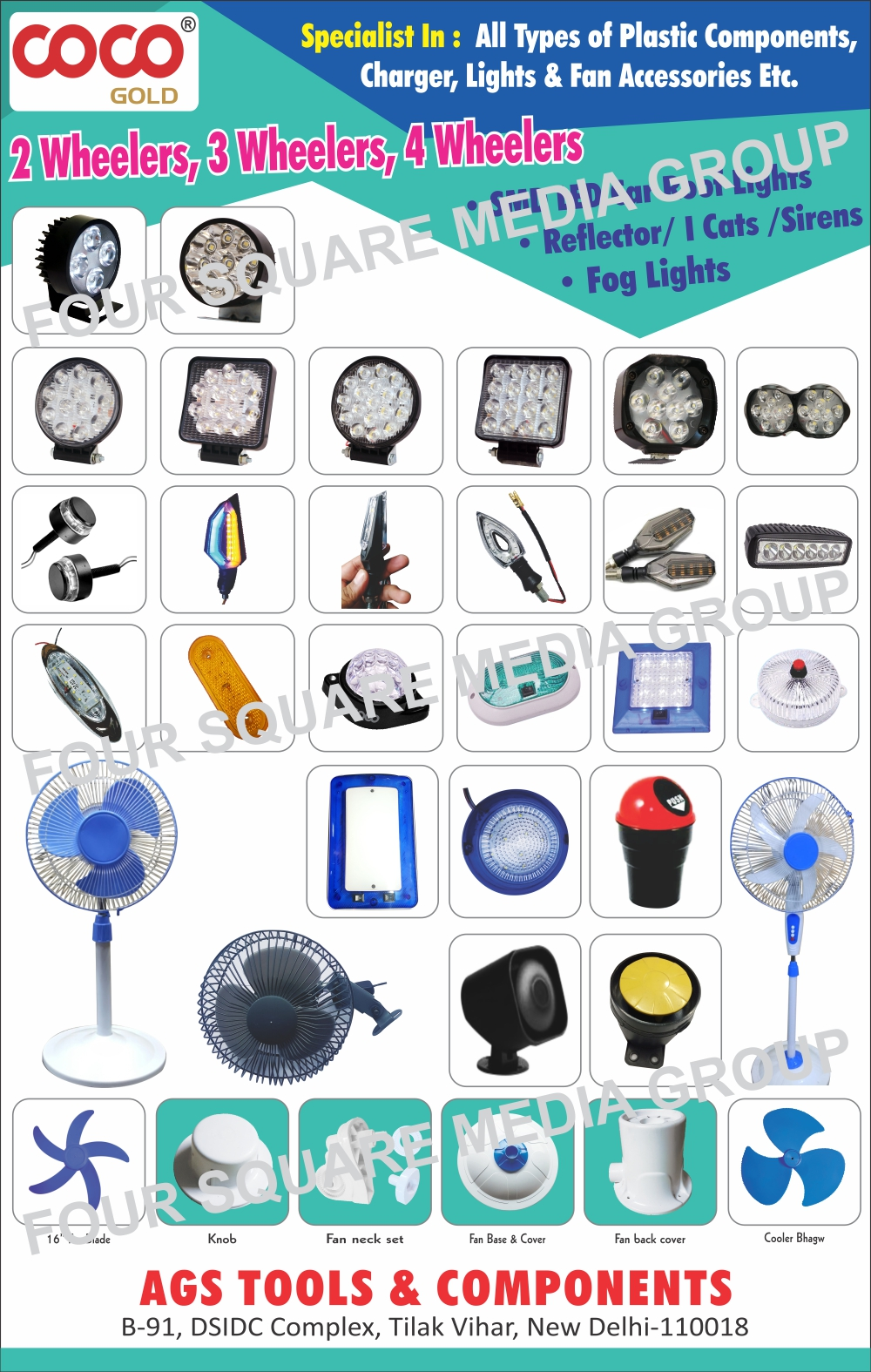 Auto Led Roof Lights, AC Charger Cabinets, Multi Charger Cabinets, USB AC Charger Cabinets, Car Charger Cabinets, DC Charger Cabinets, Plastic Components,