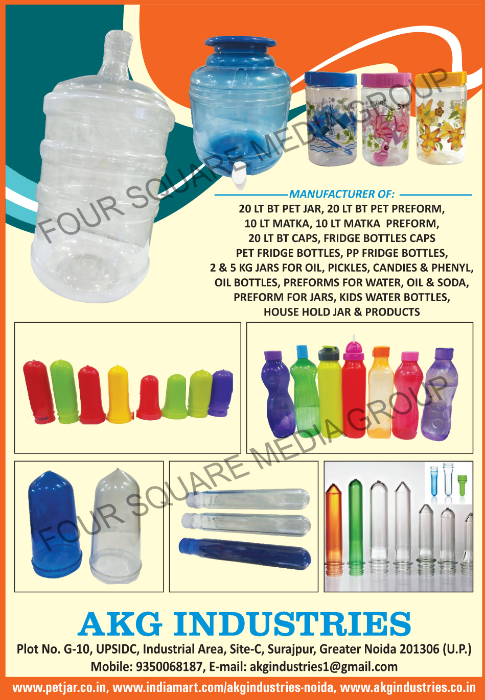20 Ltr BT Pet Jars, 20 Ltr BT Pet Preforms, 10 Ltr Matka, 10 Ltr Matka Preforms, 20 Ltr BT Caps, Fridge Bottle Caps, Pet Fridge Bottles, PP Fridge Bottles, Oil Jars, Pickle Jars, Candy Jars, Phenyl Jars, Oil Bottles, Water Bottle Preforms, Oil Bottle Preforms, Soda Bottle Preforms, Jar Preforms, Kids Water Bottle Preforms, House Hold Jar Preforms, Household Jar Preforms, Pet Jars, Pet Preforms
