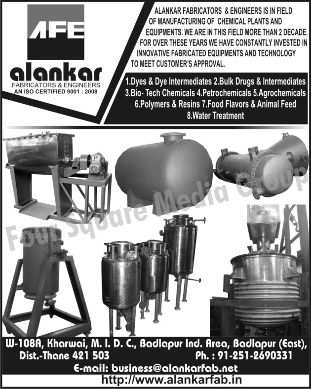 Chemical Plants | Chemical Equipments | Dyes | Dye