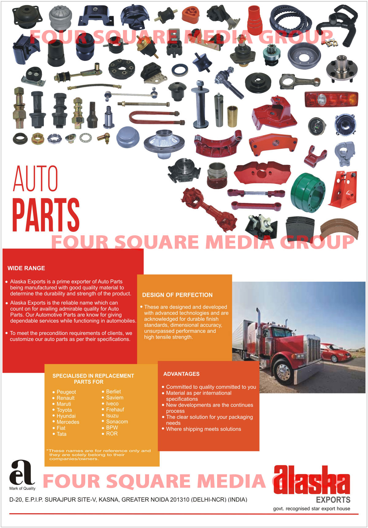 Tractor Parts, Combine Parts, Automotive Parts, Automotive Spare Parts,Agriculture Parts, Rubber Products, Bearings, Belts, Brake Lining, Bushes, Clutch, Connecting Rod, Control Cables, Electrical Parts, Engine Mountings, Engine Parts, Fastners, Filters, Gears, Hoses, CV Joint, Stearing Boots, Oil Seals, Suspension Parts, Radiator Caps, Leap Springs, Lights, V Belts, Conveyor Belting, Rubber Sheets, Rubber Transmission Belting Tread, Automotive Replacement Parts, Car Replacement Parts, Truck Replacement Parts, Trailer Replacement Parts, Cultivator Parts, Harvester Parts, Cultivator Gears, Tractor Gears, Harvester Gears, Cultivator Sprockets, Tractor Sprockets, Harvester Sprockets