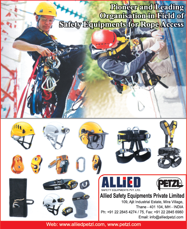 Rope Access Safety Equipments