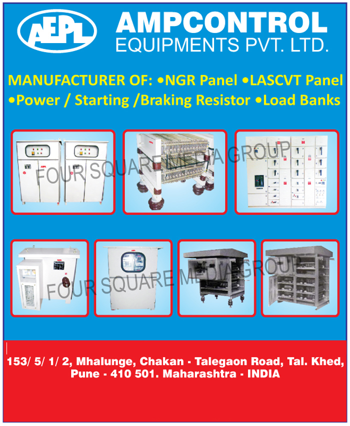 NGR Panels, LASCVT Panels, Power Resistors, Starting Resistors, Braking Resistors, Load Banks