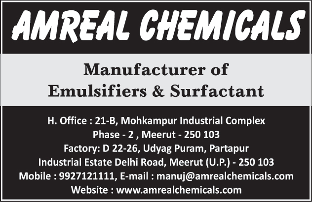 Emulsifiers, Surfactant