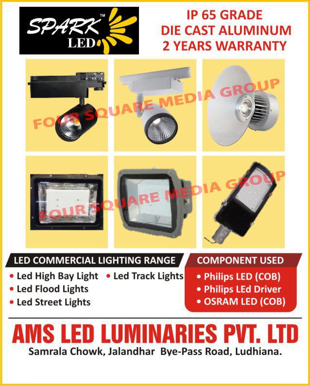 Commercial Led Lights, Led High Bay Lights, Led Track Lights, Led Flood Lights, Led Street Lights