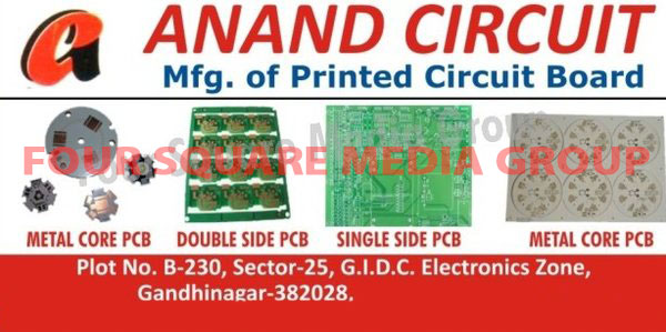 PCB, Printed Circuit Boards, Single Side PCB, Single Side Printed Circuit Boards, Double Side PCB, Double Side Printed Circuit Boards, Metal Core PCB, MCPCB, Metal Core Printed Circuit Boards