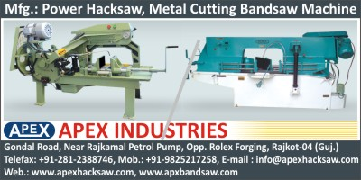 Power Hacksaw Machines, Bandsaw Machines, Drill  Machines
