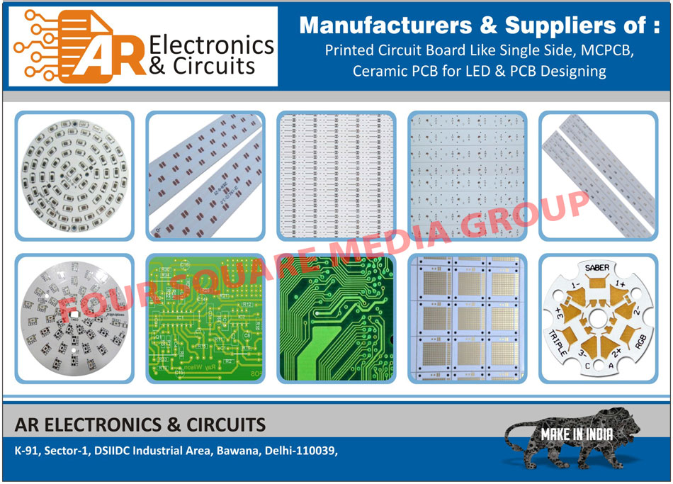 Printed Circuit Boards Pcb Single Side Board Designer Images Mcpcb Ceramic Designing Services