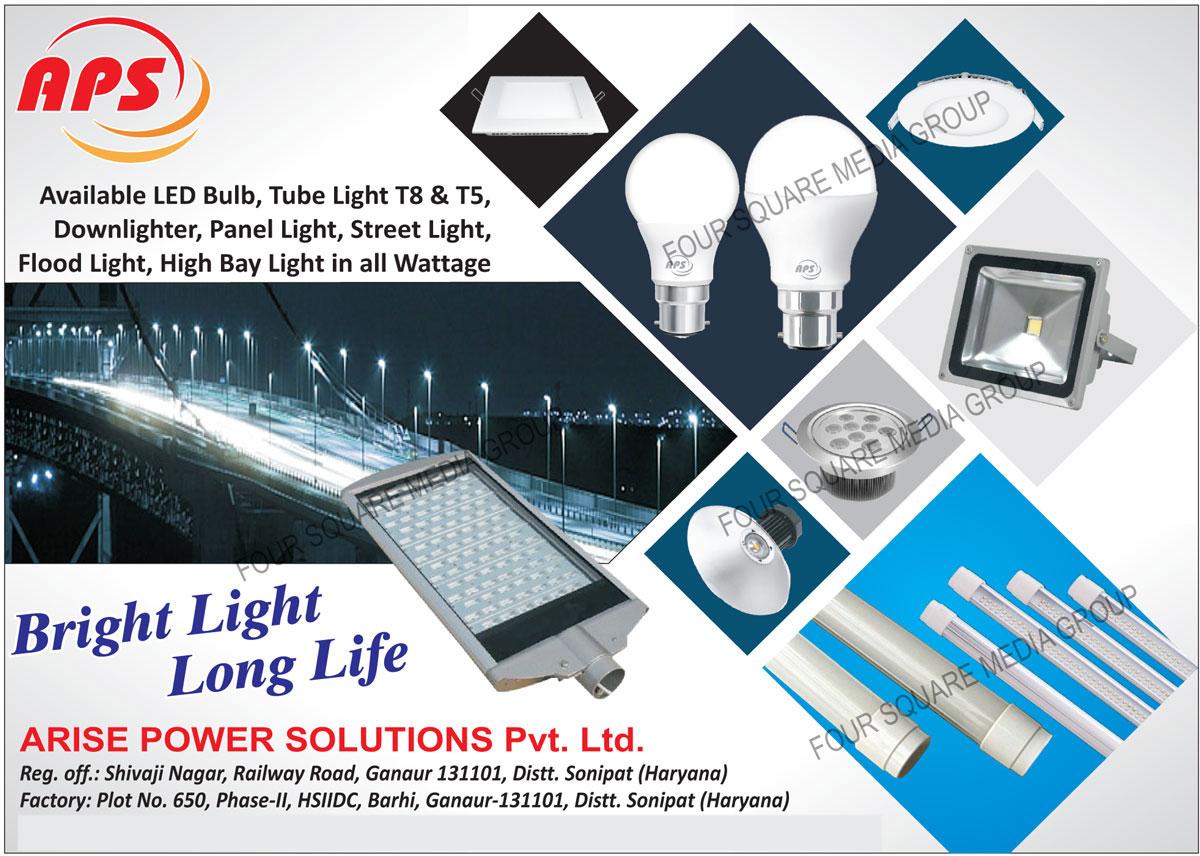 T5 Led Tube Lights, T8 Led Tube Lights, Led Bulbs, Led Downlighters, Led Panel Lights, Led Street Lights, Led Flood Lights, Led High Bay Lights