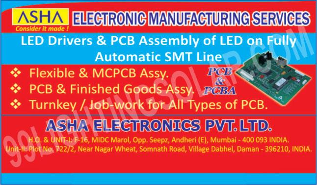 Led Drivers, Led Printed Circuit Board Assemblies, Flexible Assemblies, MCPCB Assembly, Printed Circuit Board Assemblies, Finished Goods Assemblies, Printed Circuit Board Job Works, Turnkey Job Works,PCB, PCBA, PCB Assemblies, SMT Line, MCPCB Assemblies, Led PCB, Portable Inverter