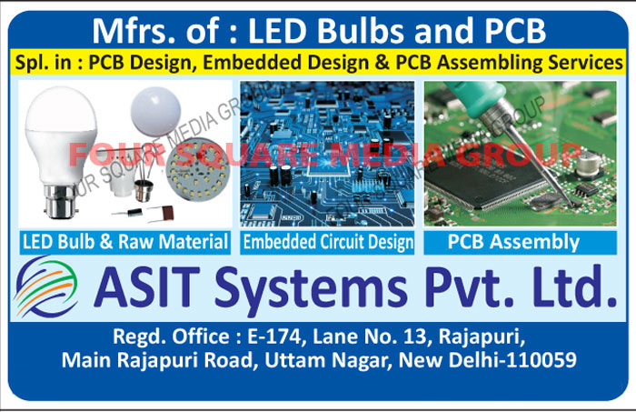 Led Bulbs, PCB, Printed Circuit Boards, PCB Designs, Embedded Designs, PCB Assemblies Services, PCB Assembly Services, PCB Assembly, Led Bulb Raw Material