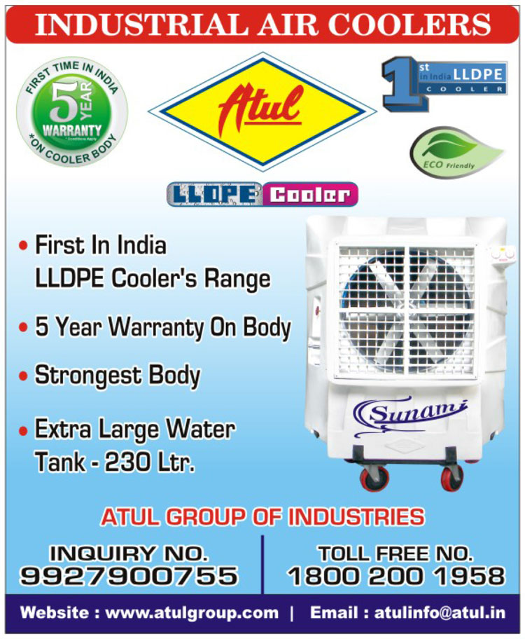 Industrial Air Coolers, LLDPE Coolers