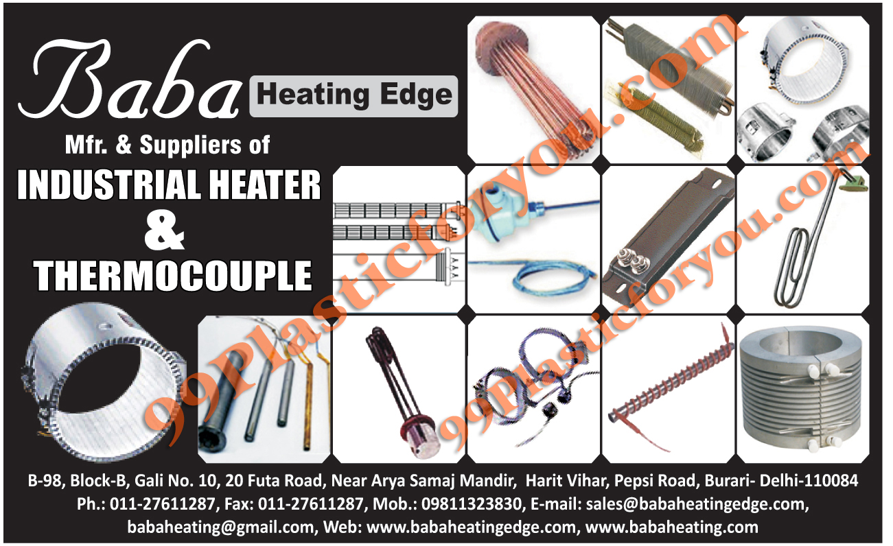 Industrial Heaters, Thermocouple,Heater, Heating Element, Immersion Heater, Air Finned Heater, Cast Aluminum Heater, Trace Heater, Silica Glass Heater, Ceramic Band Heater, High Density Heater, Coil Heater, Air Heater, Glass Heater, Chemical Immersion Heater