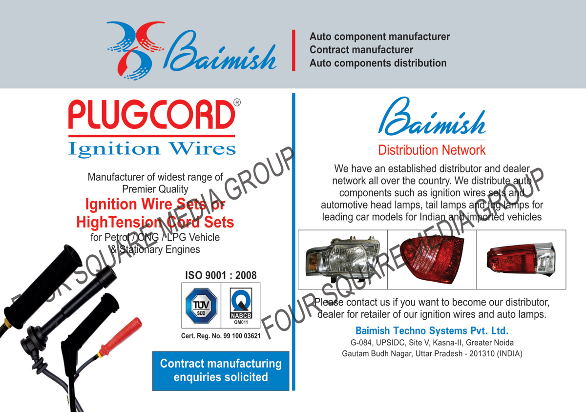 Automotive Components | Ignition Wire Sets | High Tension Cord Sets ...