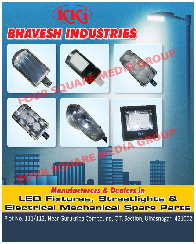 Led Fixtures, Led Street Lights, Electrical Mechanical Spare Parts