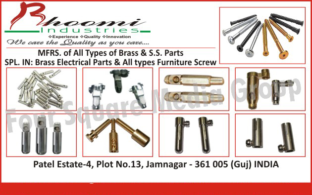 Brass Parts , Stainless Steel Parts, Brass Electrical Parts, Furniture Screws,