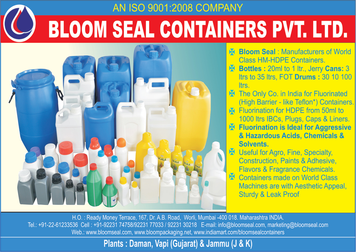 Hm Containers, Hdpe Containers, Pvc Bottles, Jerry Cans, Fot Drums