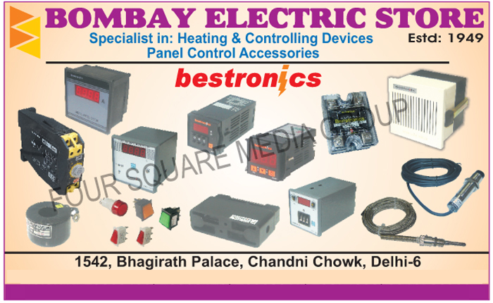 Heating Devices, Controlling Devices, Control Panel Accessories