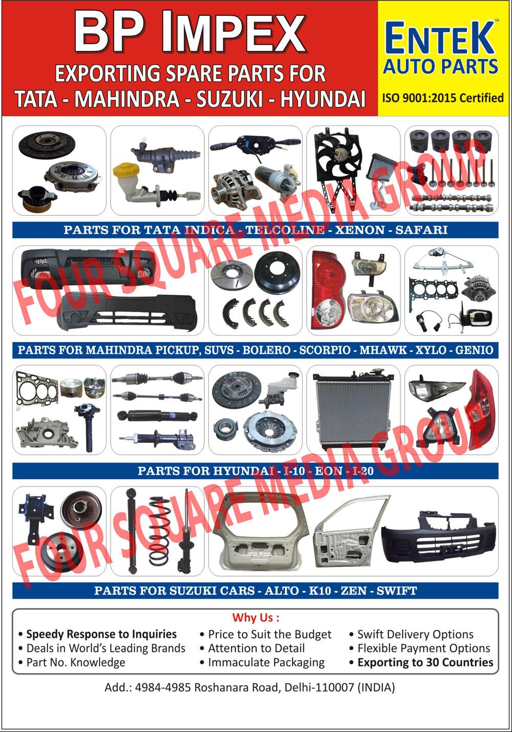 Four Wheeler Spare Parts | Automotive Body Parts | Automotive Brake ...