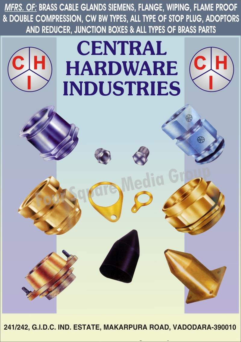 Brass Cable Glands, Flanges, Wiping, Reducers, Junction Boxes, CW Type Cable Glands, BW Type Cable Glands, Brass Parts, Double Compression Cable Glands, Flameproof Cable Glands