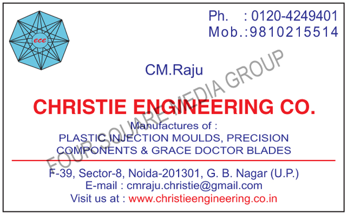 Plastic Injection Moulds, Precision Components, Grace Doctor Blades