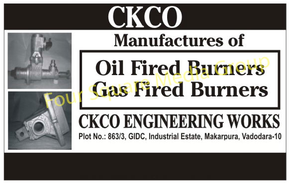 Oil Fired Burners, Gas Fired Burners,Furnaces, Burners, Fluxes, Coatings, Ceramic Product, Aerosol Products