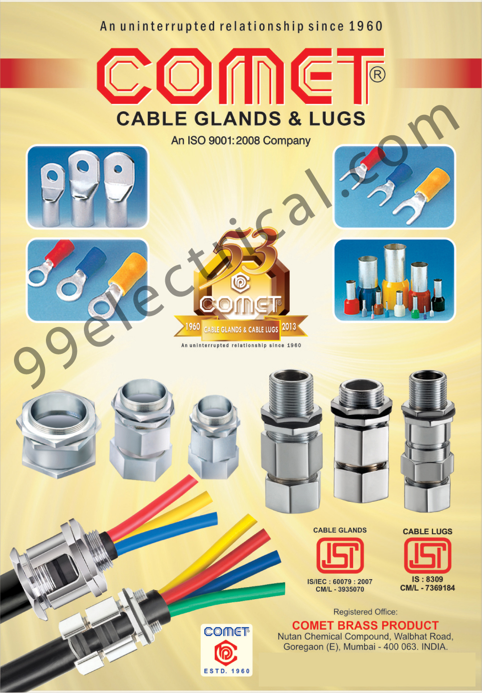 Cable Glands | Cable Lugs | Electrical Parts | Lugs | Glands | Cable ...