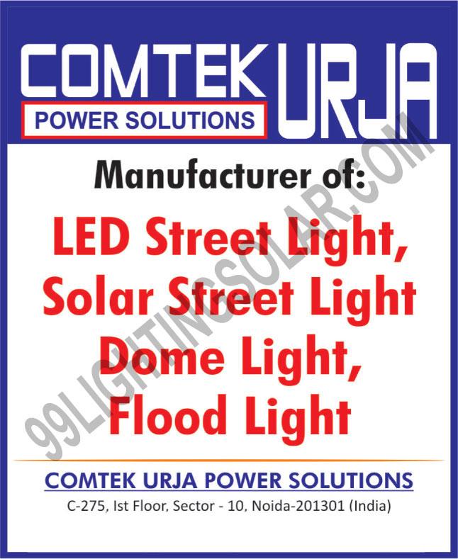 Dome Lights, Led Lights, Flood Lights, LED Street Lights, Solar Street Lights, Solar Lanterns, Leds, Led Bulbs, Bulbs, Solar Led Home Lights, Solar Module Panels
