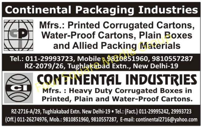 Water Proof Cartons, Printed Corrugated Cartons, Corrugated Boxes, Printed Corrugated Boxes, Plain Corrugated Boxes, Packing Materials,Cartons