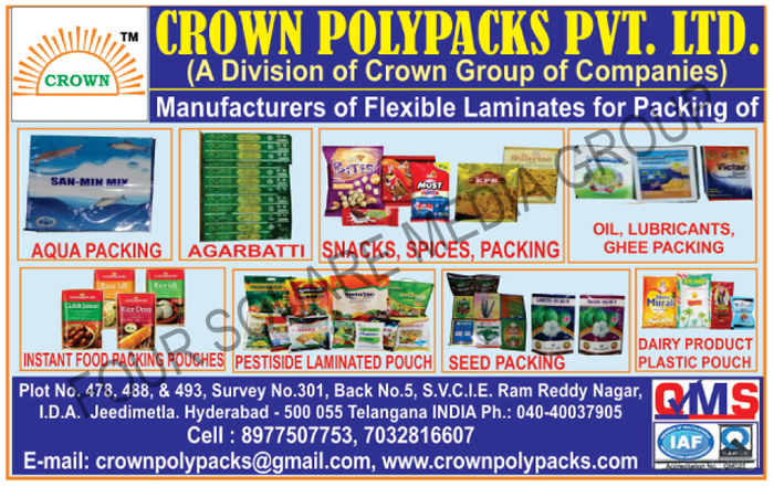 Flexible Laminates for Packing