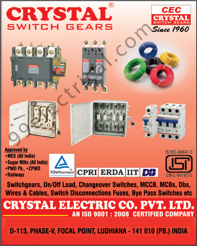 Switchgear, Changeover Switches, MCCB, MCBs, Dbs, Wires, Cables, Switch Disconnection Fuses, Bye Pass Switches, On Load Changeover, On Load Changeover Switches, Off Load Changeover Switches, Off Load Changeovers, Circuit Breakers, Fuse, Isolators, Load Break Switches, Hrc Fuses, Switch Fuse Units, Mcb Distribution Boards, Busbar Chambers, Fuse Bases