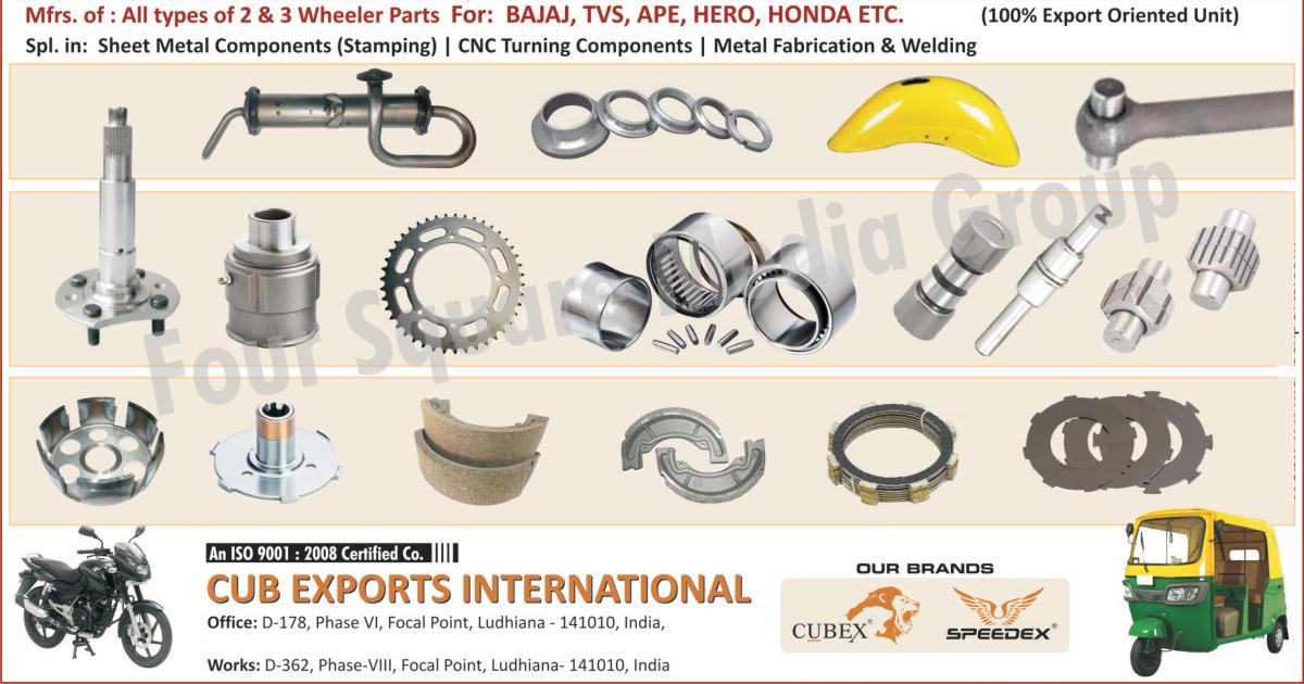 Cub Exports International, Ludhiana, Manufacturer of - Two Wheeler ...