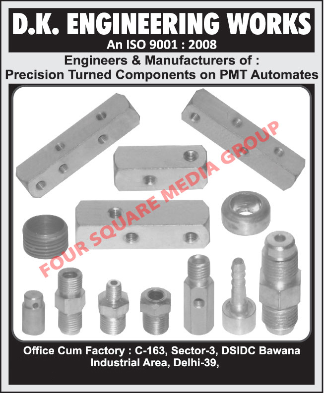 Precision Turned Components,Water Tanks