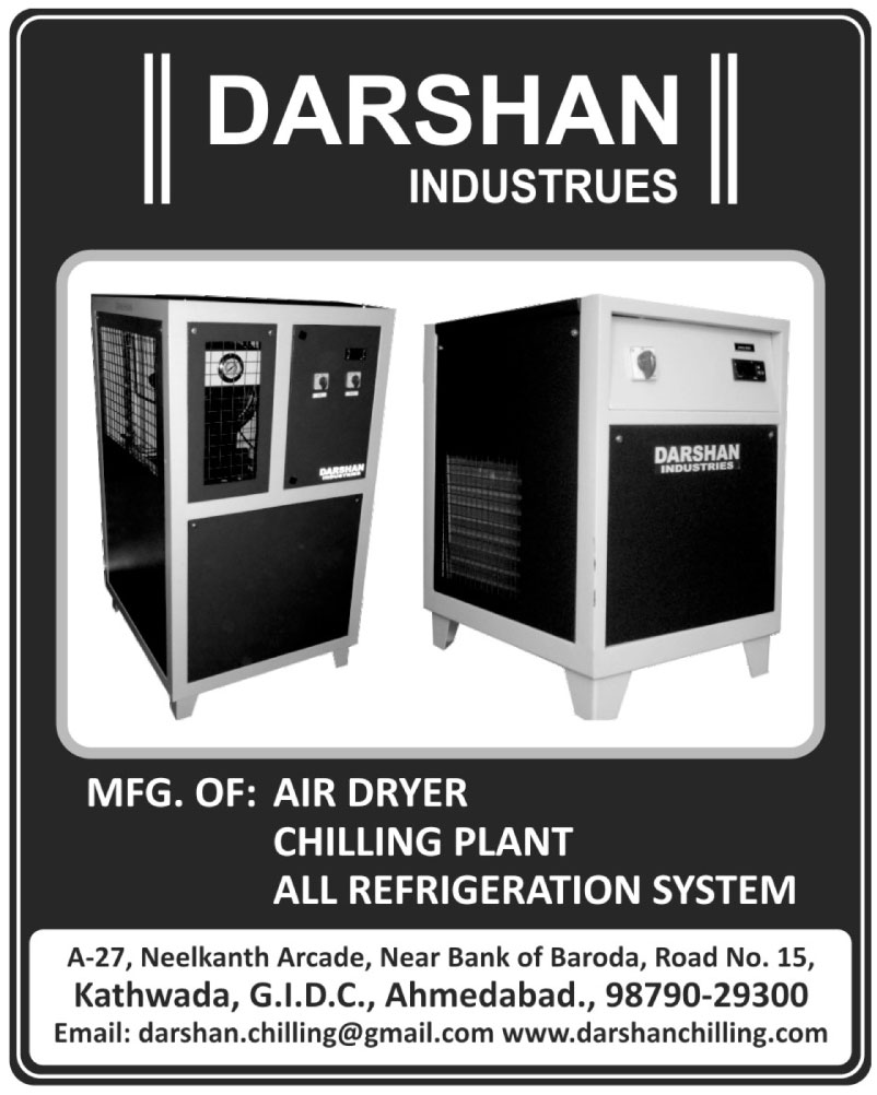 Water Chilling Plants, Air Dryers, Air Chillers, Cold Rooms, Refrigeration Systems