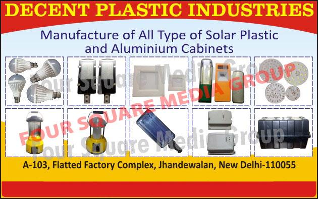 Solar Product Plastic Cabinets, Solar Product Aluminium Cabinets