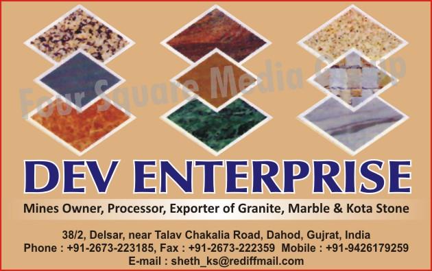 Granites, Marbles, Kota Stones,Mines Owner