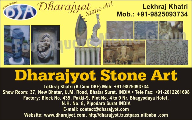 Stone Art, Stone Articles