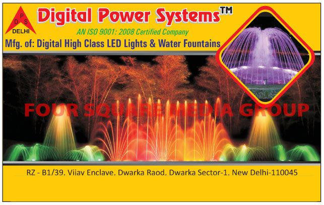 Digital Led Lights, Water Fountains Lights