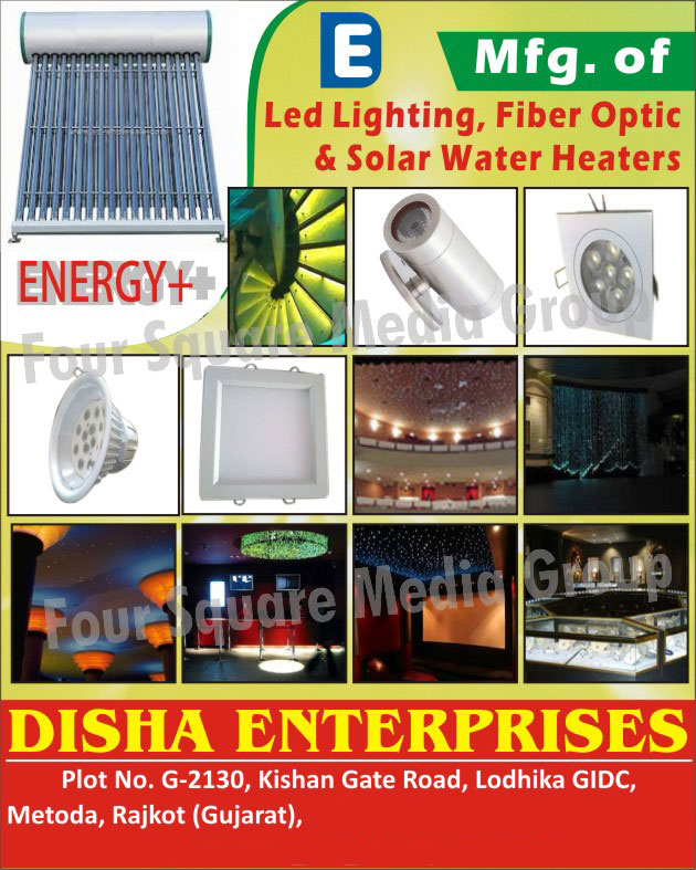 Led Lights, Fiber Optic, Water Heaters