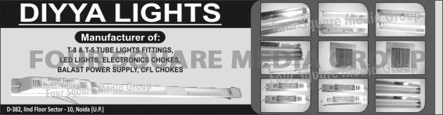 LED Lights, Tube Light Fittings, Electronics Chokes, CFL Chokes,Chokes, Power Supply, Tube Lights, Light Fittings