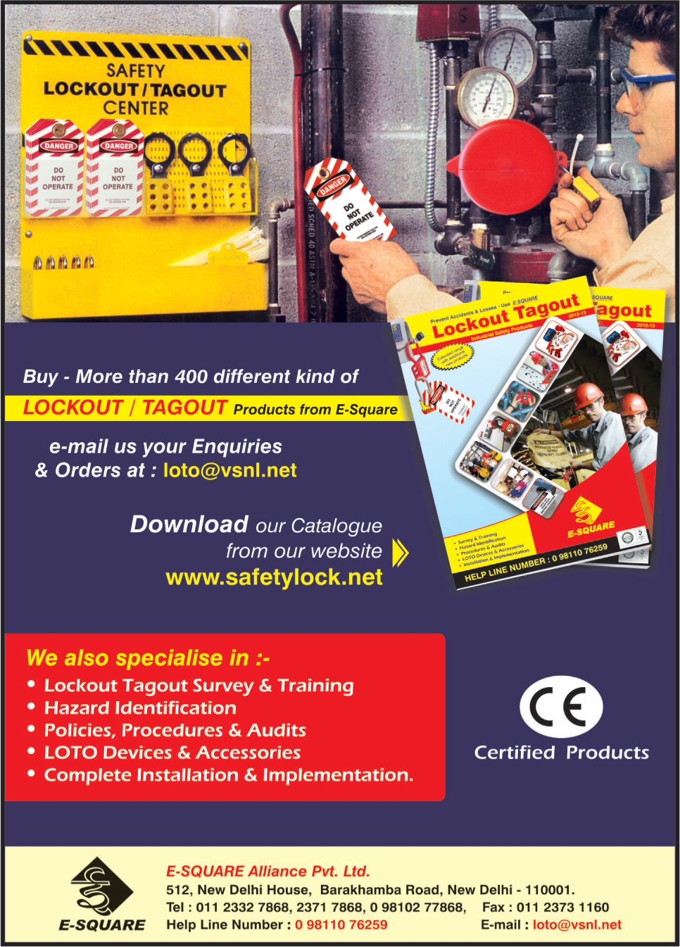 Lockout Products, Tagout Products, Lockout Tagout Products, Loto Devices, Loto Accessories,