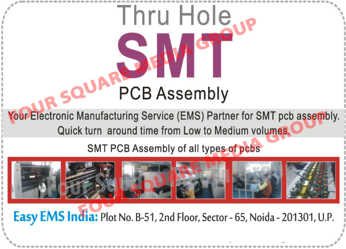 Through Hole SMT Printed Circuit Board Assemblies,
