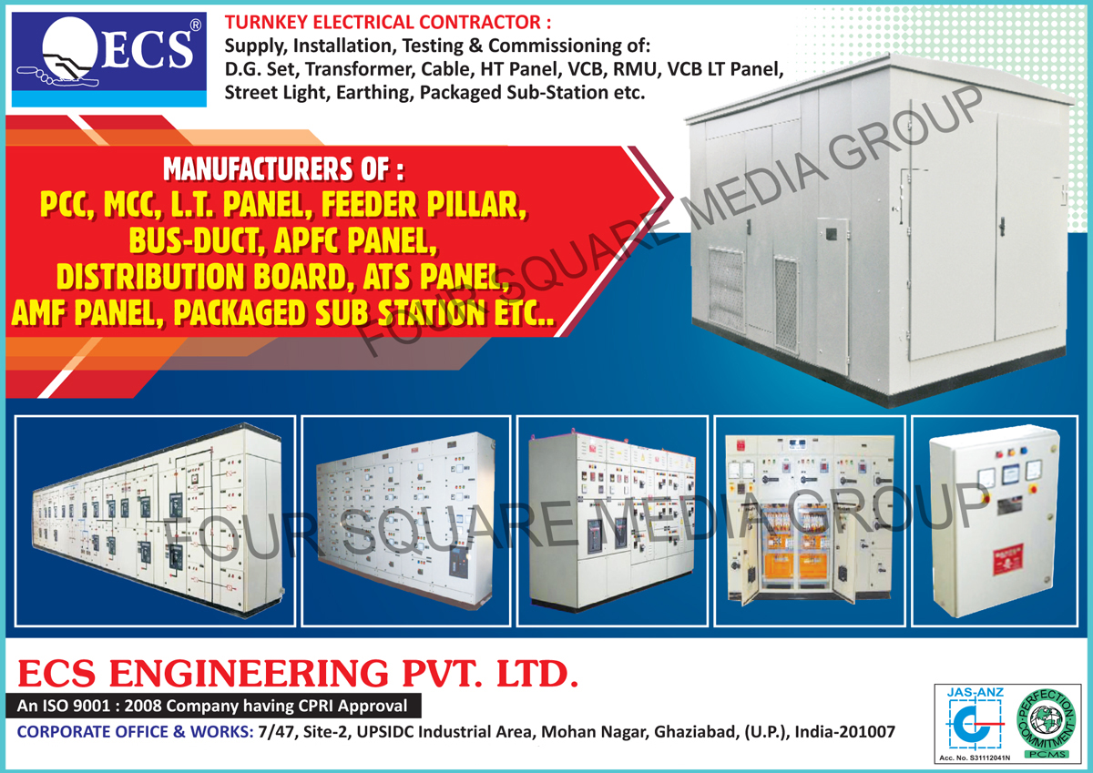 PCC, MCC, LT Panels, Feeder Pillars, Bus Ducts, APFC Panels, Distribution Boards, ATS Panels, AMF Panels, Packaged Sub Stations, Turnkey Electrical Contractors, DG Set Supply, Transformer Supply, Cable Supply, HT Panel Supply, VCB Supply, RMU Supply, VCB LT Panel Supply, Street Light Supply, Earthing Supply, Packaged Sub Station Supply, DG Set Installation Services, Transformer Installation Services, Cable Installation Services, HT Panel Installation Services, VCB Installation Services, RMU Installation Services, VCB LT Panel Installation Services, Street Light Installation Services, Earthing Installation Services, Packaged Sub Station  Installation Services, DG Set Testing Services, Transformer Testing Services, Cable Testing Services, HT Panel Testing Services, VCB Testing Services, RMU Testing Services, VCB LT Panel Testing Services, Street Light Testing Services, Earthing Testing Services, Packaged Sub Station  Testing Services, DG Set Commissioning Services, Transformer Commissioning Services, Cable Commissioning Services, HT Panel Commissioning Services, VCB Commissioning Services, RMU Commissioning Services, VCB LT Panel Commissioning Services, Street Light Commissioning Services, Earthing Commissioning Services, Packaged Sub Station  Commissioning Services
